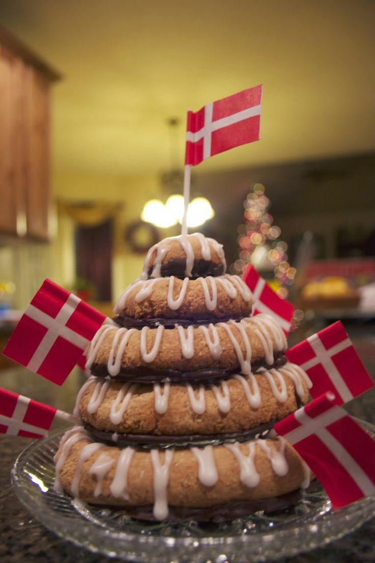 Kransekage Traditional Danish New Years Cake