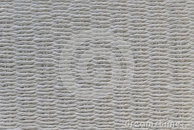 A chair white basket weave pattern.