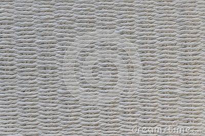 A chair white basket weave pattern.