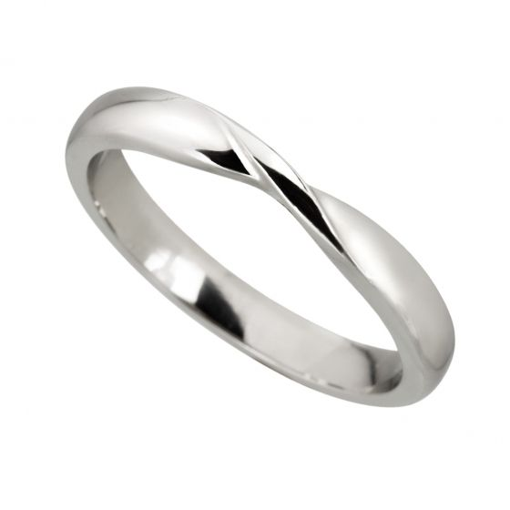 Ribbon Twist Wedding Ring | Mitchel & Co (Birmingham)