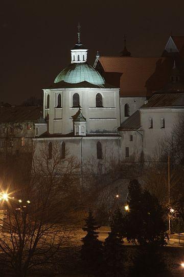 Nocą. #klasztor #dominikanie #lublin #bynight