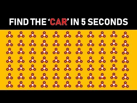 Find the Odd Spinner | Can You Find the Odd Object Out in These