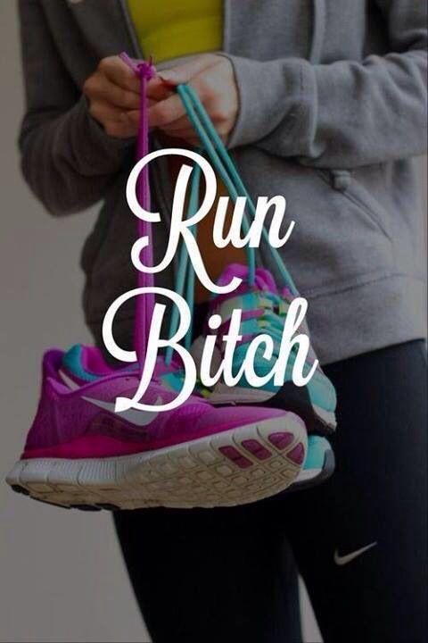 shut up and run!