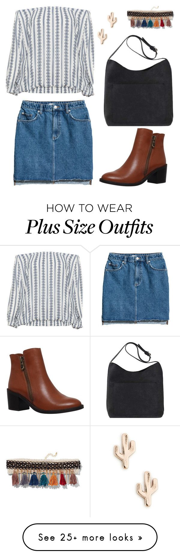 """chillyshoulder"" by anais-rose on Polyvore featuring Zizzi, New York & Company, Carvela and Sole Society"