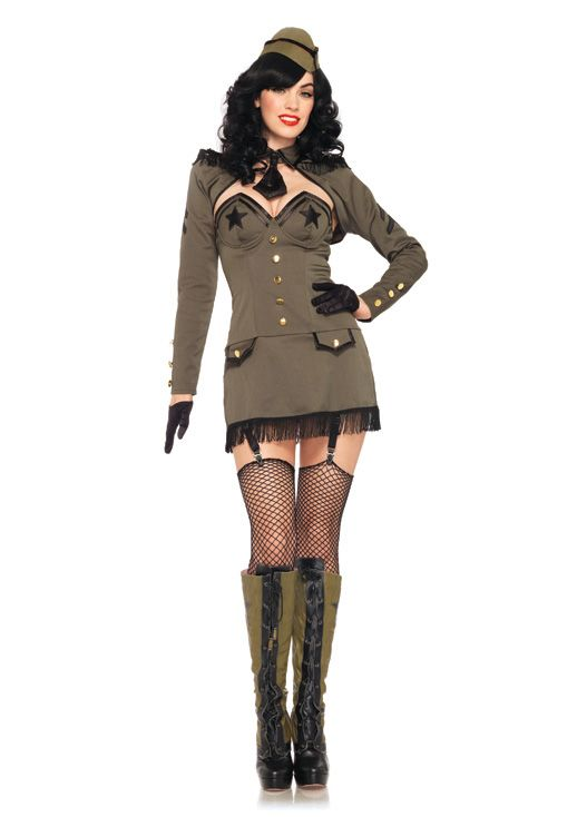 pin up army girl 2013 halloween costume online - Soldier Girl Halloween Costume