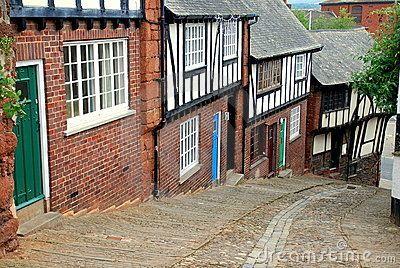 Exeter, England: Stepcote Hill by Lee Snider, via Dreamstime