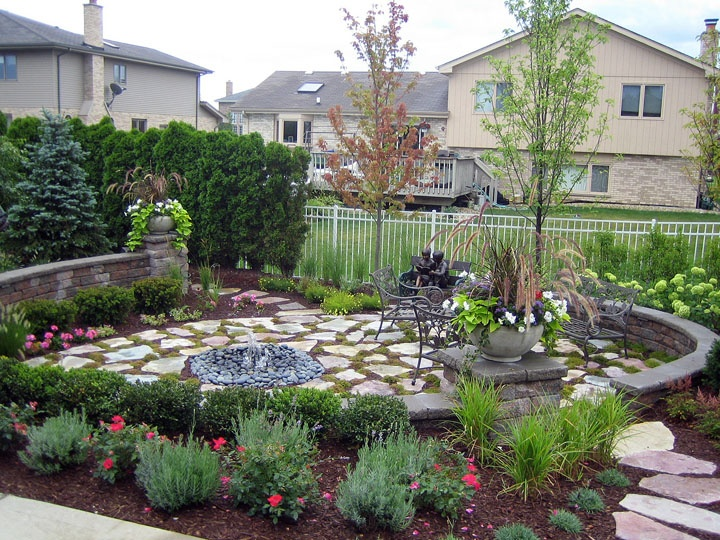 Used to be an above ground pool in back yard see what we for Above ground pool removal ideas