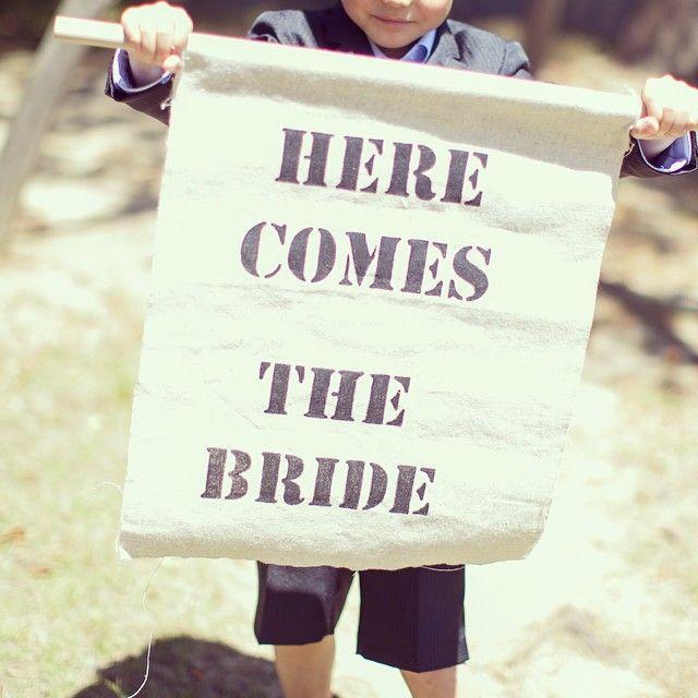 #wedding#ウエディング#ウエディング小物#フラッグボーイ #DIY フラッグボーイくん♡