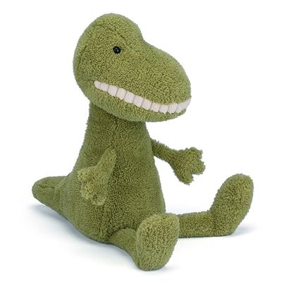 Charming Small T-Rex Toothy Dino by Jellycat buy online now at Say It Baby