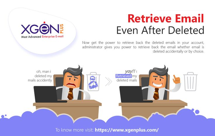 Retrieve your emails even after deletion Now get the power to retrieve back the deleted emails in your account.  To know more visit: https://www.xgenplus.com/ #xgenplus #enterpriseemailsolution #emailsoftware #buynow #followus