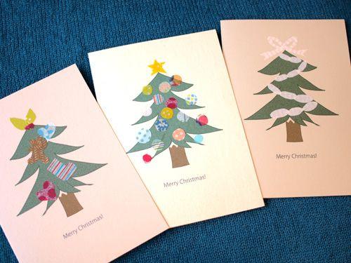 """画像 : 手軽にハンドメイド!""""マスキングテープ""""を使ってクリスマスカードを作ろう - NAVER まとめ"""