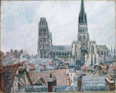 The Roofs of Old Rouen, Gray Weather, was one of Camille Pissarro's last major works. Learn about this famous Impressionist painting by Pissarro.