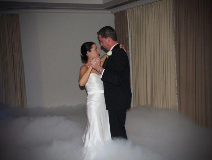 """Pierwszy taniec w chmurach to efekt niezwykły i zjawiskowy jak w """"Tańcu z Gwiazdami"""" :)"""