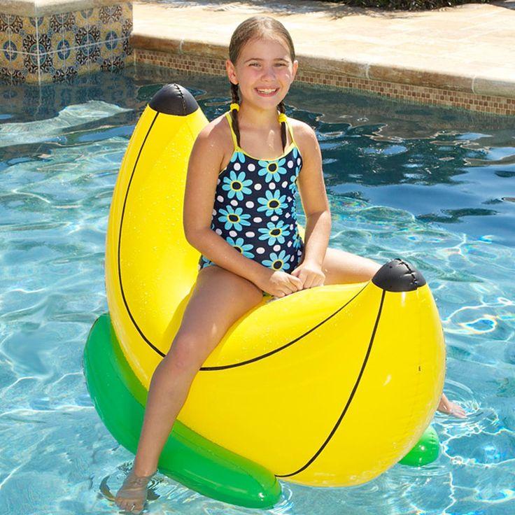 Banana Rider Pool Float