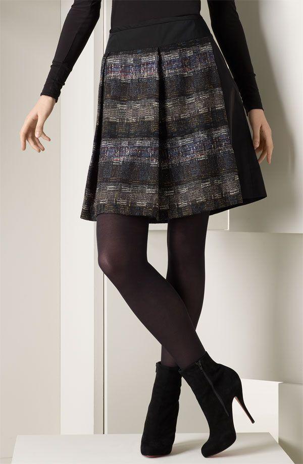 F Df B Bc B Ad D B C Skirt Boots Tights And Boots