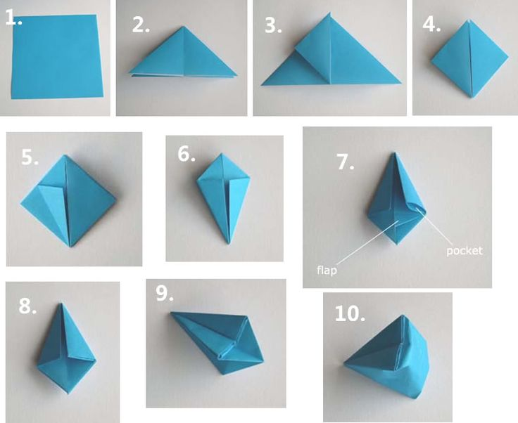 a Simple Origami Diamond                                                                                                                                                                                 More