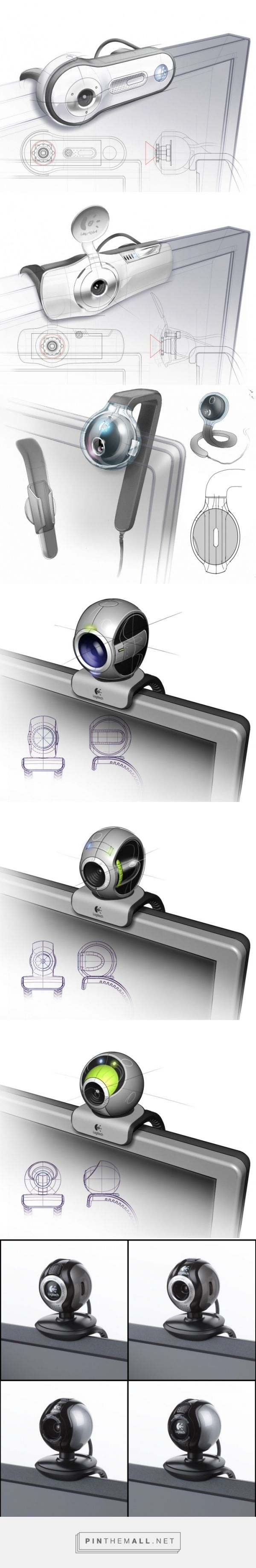 Logitech Webcams by Andy Logan at Coroflot.com - created via http://pinthemall.net