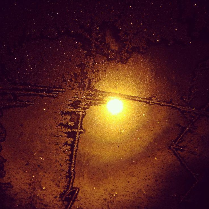 Vetro ghiacciato.. ❄️❄️
