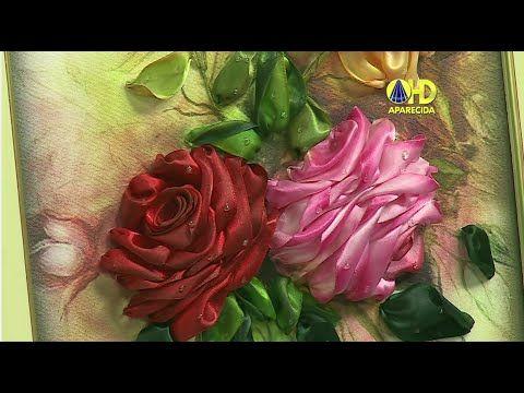 Vida com Arte | Rosas Colombianas com Fitas por Valéria Soares - 03 de Setembro de 2014 - YouTube