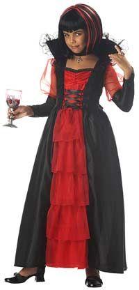 Girls Regal Vampire Costume - Vampire Costumes