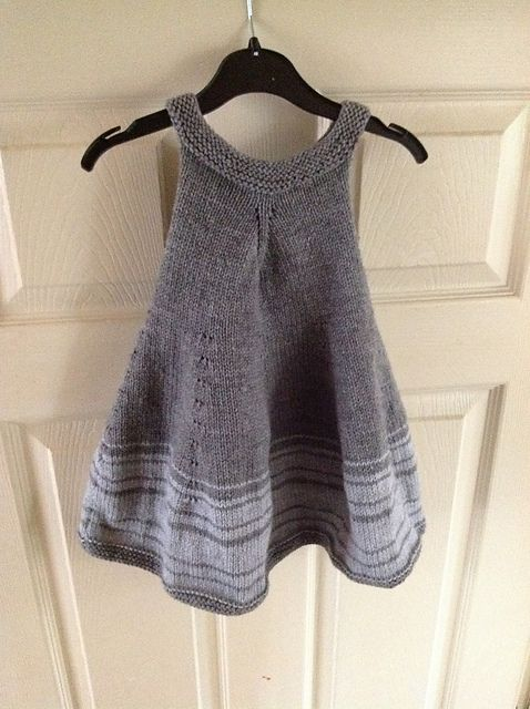 Violet Dress pattern by Shelby Dyas knit in Berroco Comfort DK #ravelry #knitting