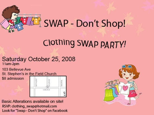 69 Best Images About Clothing Swap Parties On Pinterest