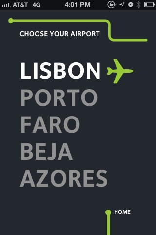 UI PAtterns. ANA Portuguese Airports / Travel 02