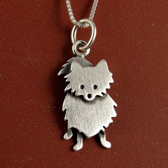 Pomeranian necklace.