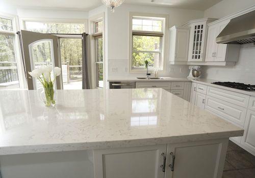 Cambria Torquay Looks Like White Carrara Marble