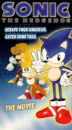 Sonic the Hedgehog Anime - 2-episode 1996 Japanese anime OVA series based on Sega's best-selling franchise, Sonic the Hedgehog. The anime features Sonic, Tails, Knuckles, Dr. Eggman (Dr. Robotnik in the English release) & a few supporting characters, such as the human Sara. The series was licensed by ADV Films & was released on Sep 7, 1999 as a single direct-to-video film in North America. Both Japanese & U.S. DVD versions include scenes that were edited out from the VHS release.