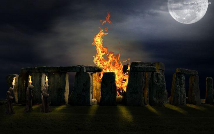Ogień, Zakonnicy, Kamienie