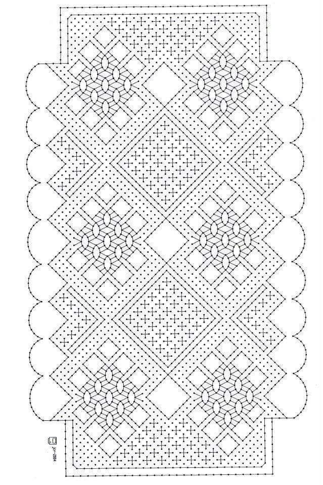 25 best Chalecos images on Pinterest | Bobbin lace, Bobbin lace ...
