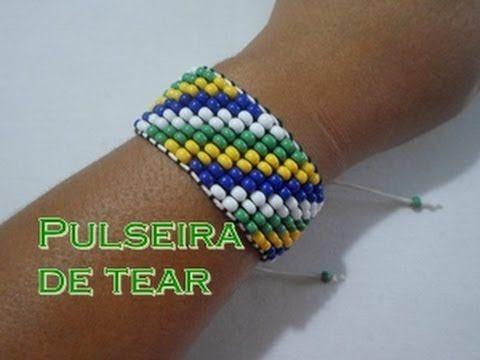 "NM Bijoux - ""Serie Brasil"" - Pulseira de tear - YouTube"