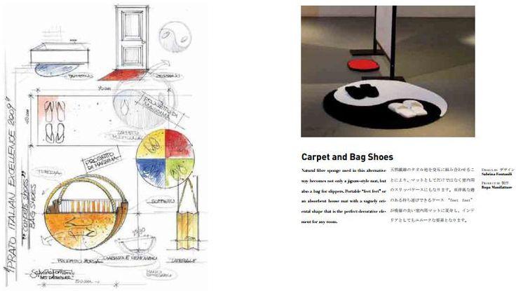 Carpet and Bag Shoes #design #carpet