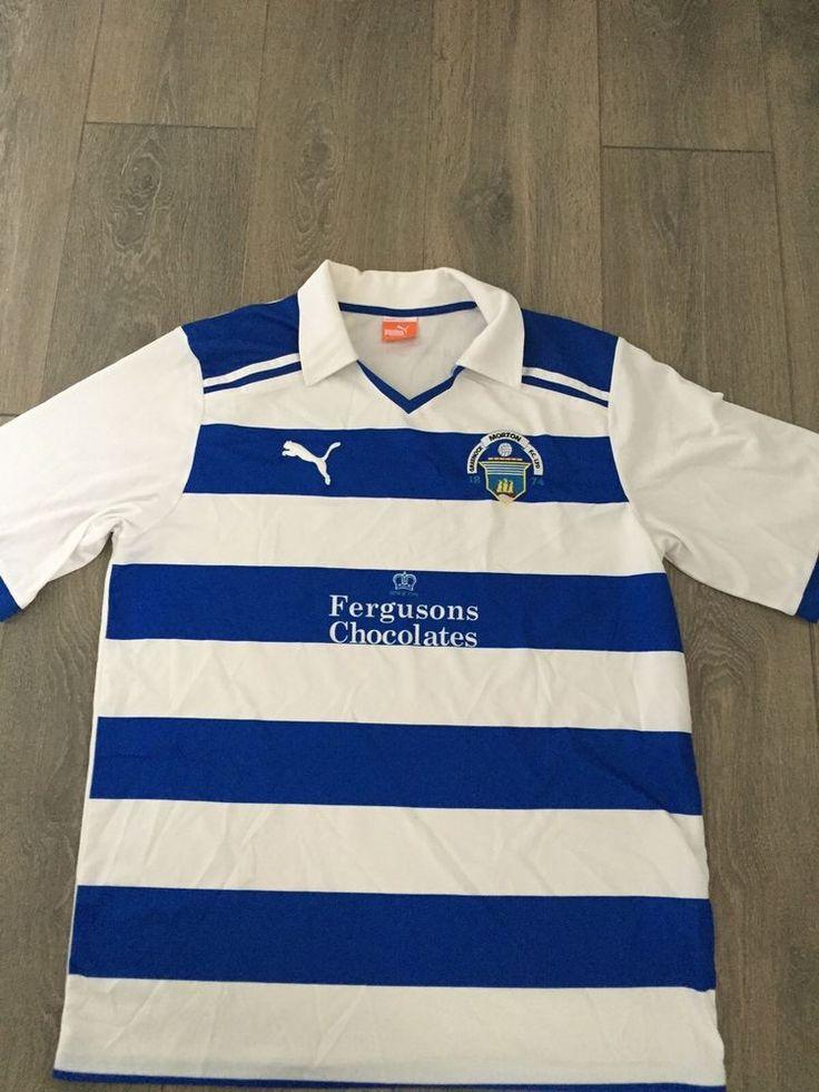 Greenock Morton Home Shirt 2010/11 Rare