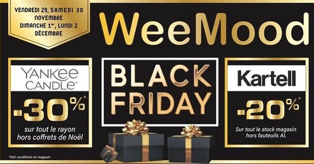 Le Week End Black Friday Weemood Weemood Est Ouvert Ce Dimanche 30 Sur Le Stock Magasin Yankee Candle Hors Coffrets De N In 2020 Novelty Sign Decor Novelty