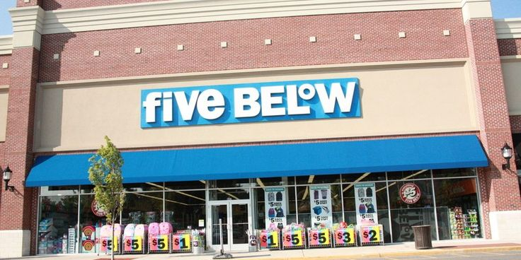 Five and below black friday 2019