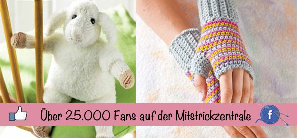 Wir sagen Danke für über 25.000 Fans auf der Mitstrickzentrale - Handarbeiten - Magazin - TOPP Kreativ