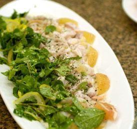 Mahi Mahi Pummelo Ceviche Recipe Image