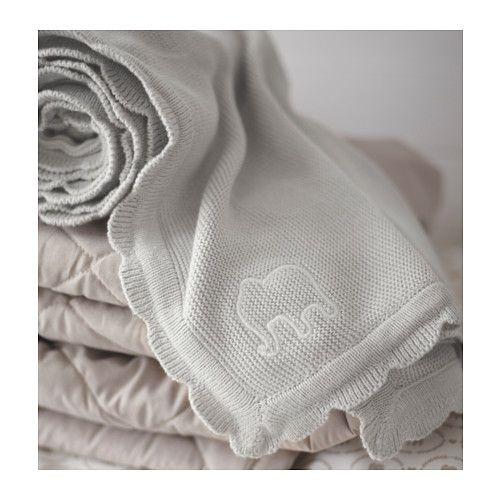 ÄLSKAD 毛布, グレー グレー 70x90 cm