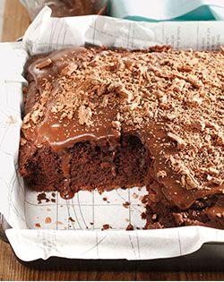 Simply irresistible - #egglesscoffeechocolatecake