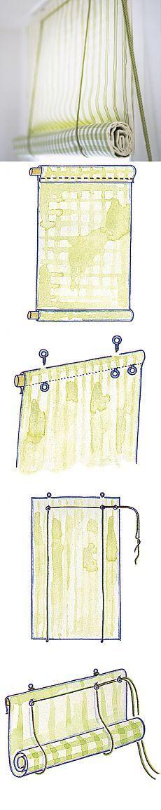 Идеи декора для окон. Римские шторы, японские панели и др... Идеи + своими…