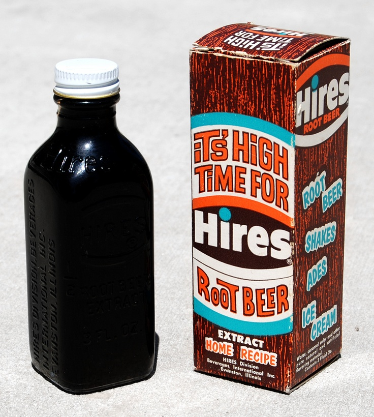Hires Root Beer Extract - Use to make this in a tub at my great grandmothers house and she let me bottle it.