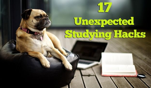 Clever yet unexpected studying tips!