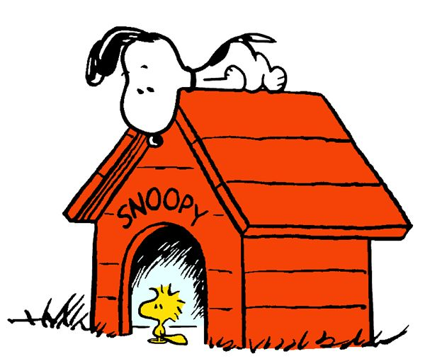 Woodstock at Snoopy's House