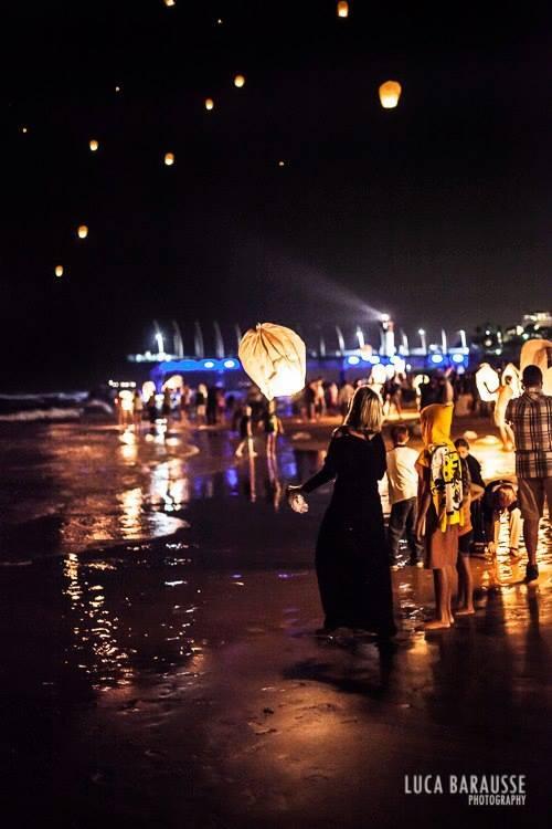 Go to the cancer awareness Lantern evening