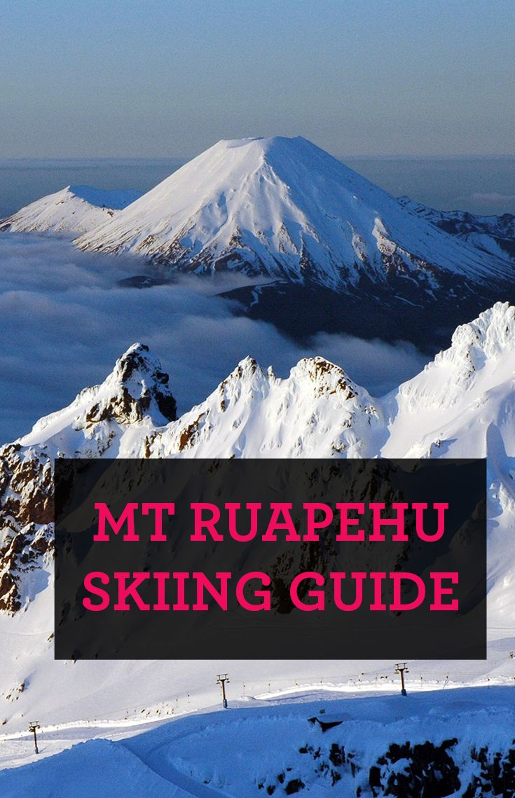 Not long now till the snowfields open. In the meantime, here's a guide to skiing at Mount Ruapehu.