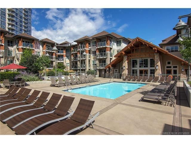 Presented by Tracey Vrecko of Quincy Vrecko & Associates RE/MAX Kelowna. This immaculate 2 Bedroom & 2 Bathroom inside corner unit overlooks the courtyard with a view of the pool. The desirable split bedroom floor plan unit has been lovingly cared for and recently upgraded with new carpeting, paint and lighting.