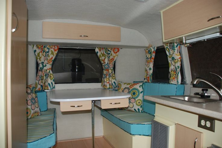 Airstream For Sale Bc >> Boler interior restoration. I love the single cabinet door above the galley. | Cute Campers and ...