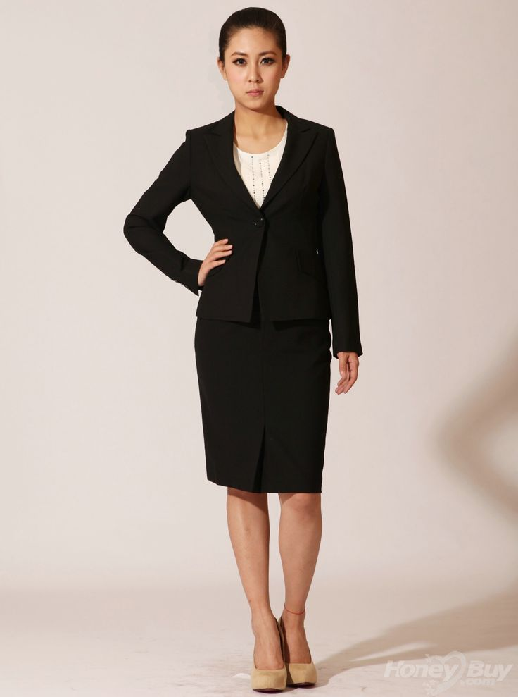 Pictures of business dress attire for women